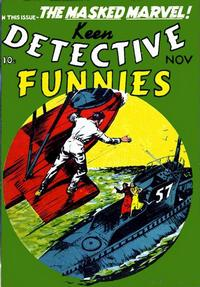 Cover Thumbnail for Keen Detective Funnies (Centaur, 1938 series) #v2#11