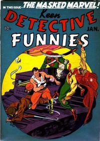 Cover Thumbnail for Keen Detective Funnies (Centaur, 1938 series) #v3#1