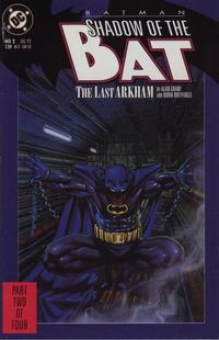 Cover Thumbnail for Batman: Shadow of the Bat (DC, 1992 series) #2