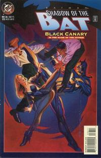 Cover for Batman: Shadow of the Bat (DC, 1992 series) #36