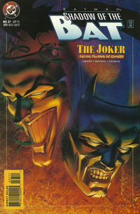 Cover Thumbnail for Batman: Shadow of the Bat (DC, 1992 series) #37