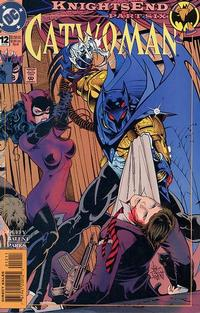 Cover for Catwoman (DC, 1993 series) #12 [Direct Edition]