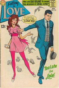 Cover Thumbnail for Falling in Love (DC, 1955 series) #102