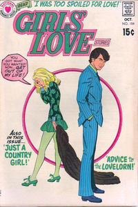 Cover Thumbnail for Girls' Love Stories (DC, 1949 series) #154