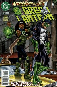 Cover Thumbnail for Green Lantern (DC, 1990 series) #84