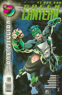 Cover Thumbnail for Green Lantern (DC, 1990 series) #1,000,000 [Direct Sales]