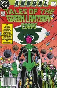 Cover Thumbnail for Green Lantern Annual (DC, 1987 series) #3 [Newsstand]