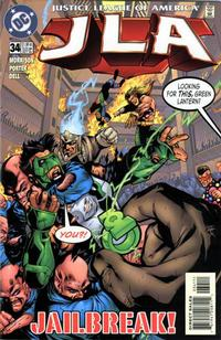 Cover Thumbnail for JLA (DC, 1997 series) #34