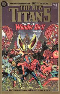 Cover Thumbnail for The New Titans (DC, 1988 series) #50