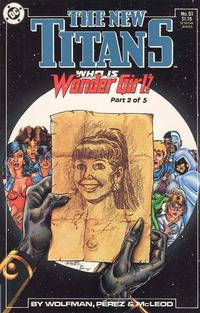 Cover Thumbnail for The New Titans (DC, 1988 series) #51