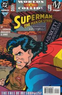 Cover Thumbnail for Superman: The Man of Steel (DC, 1991 series) #35