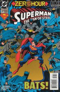 Cover Thumbnail for Superman: The Man of Steel (DC, 1991 series) #37 [Direct Sales]
