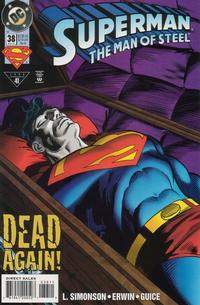 Cover Thumbnail for Superman: The Man of Steel (DC, 1991 series) #38