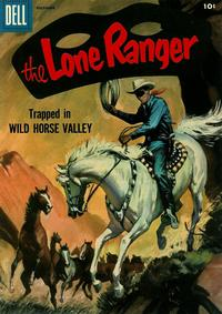 Cover Thumbnail for The Lone Ranger (Dell, 1948 series) #102