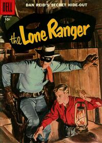 Cover Thumbnail for The Lone Ranger (Dell, 1948 series) #104