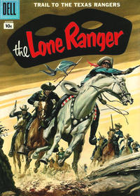 Cover Thumbnail for The Lone Ranger (Dell, 1948 series) #105 [10 cent cover price]