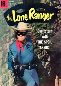 Cover Thumbnail for The Lone Ranger (Dell, 1948 series) #115