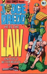 Cover Thumbnail for Judge Dredd (Eagle Comics, 1983 series) #1