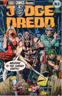 Cover Thumbnail for Judge Dredd (Eagle Comics, 1983 series) #5
