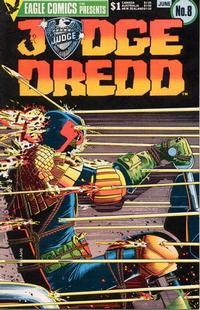 Cover Thumbnail for Judge Dredd (Eagle Comics, 1983 series) #8
