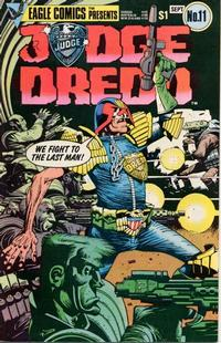 Cover Thumbnail for Judge Dredd (Eagle Comics, 1983 series) #11