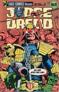 Cover Thumbnail for Judge Dredd (Eagle Comics, 1983 series) #13