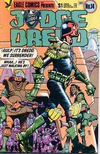 Cover Thumbnail for Judge Dredd (Eagle Comics, 1983 series) #14