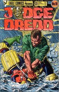 Cover Thumbnail for Judge Dredd (Eagle Comics, 1983 series) #19