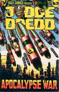 Cover Thumbnail for Judge Dredd (Eagle Comics, 1983 series) #20