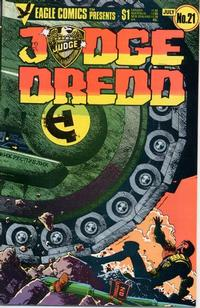 Cover Thumbnail for Judge Dredd (Eagle Comics, 1983 series) #21