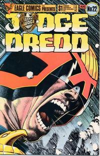 Cover Thumbnail for Judge Dredd (Eagle Comics, 1983 series) #22