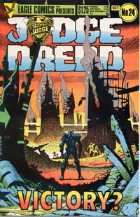 Cover Thumbnail for Judge Dredd (Eagle Comics, 1983 series) #24