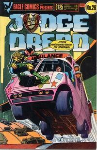 Cover Thumbnail for Judge Dredd (Eagle Comics, 1983 series) #26
