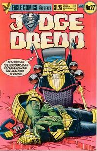 Cover Thumbnail for Judge Dredd (Eagle Comics, 1983 series) #27