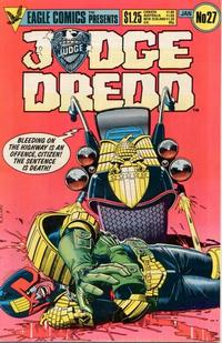 Cover Thumbnail for Judge Dredd (Eagle Comics, 1983 series) #27