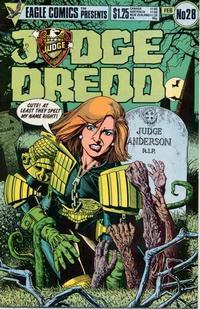 Cover Thumbnail for Judge Dredd (Eagle Comics, 1983 series) #28