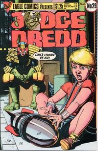 Cover Thumbnail for Judge Dredd (Eagle Comics, 1983 series) #29