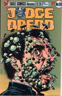 Cover Thumbnail for Judge Dredd (Eagle Comics, 1983 series) #30