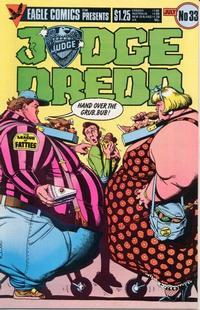 Cover Thumbnail for Judge Dredd (Eagle Comics, 1983 series) #33