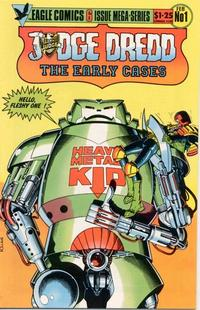 Cover Thumbnail for Judge Dredd: The Early Cases (Eagle Comics, 1986 series) #1