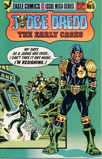 Cover Thumbnail for Judge Dredd: The Early Cases (Eagle Comics, 1986 series) #5