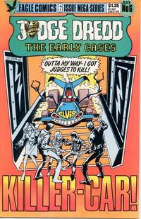 Cover Thumbnail for Judge Dredd: The Early Cases (Eagle Comics, 1986 series) #6
