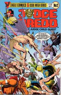 Cover Thumbnail for Judge Dredd: The Judge Child Quest (Eagle Comics, 1984 series) #2