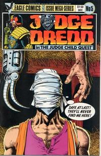 Cover Thumbnail for Judge Dredd: The Judge Child Quest (Eagle Comics, 1984 series) #5
