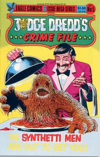 Cover Thumbnail for Judge Dredd's Crime File (Eagle Comics, 1985 series) #5