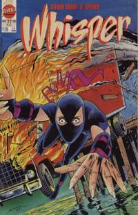 Cover for Whisper (First, 1986 series) #22