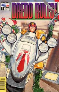 Cover Thumbnail for Dredd Rules! (Fleetway/Quality, 1991 series) #4