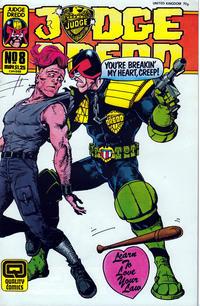 Cover Thumbnail for Judge Dredd (Fleetway/Quality, 1987 series) #8 (43)