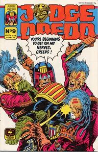 Cover Thumbnail for Judge Dredd (Fleetway/Quality, 1987 series) #9