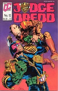 Cover Thumbnail for Judge Dredd (Fleetway/Quality, 1987 series) #12